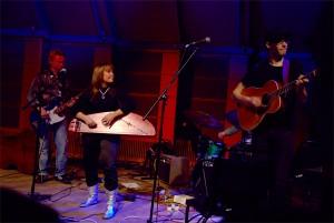 Vilma Timonen Quartet esiintyi Artic Paradice Live vieraille ja muulle yleisölle. KUVA: Jorma Airola
