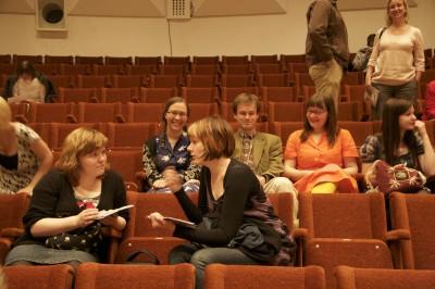 Sytyke-yhtye yleisössä