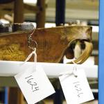 Kantele 1626 Nurmeksen museon varastossa. (kuva: Timo Väänänen)