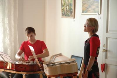 Jaakko ja Sanna konsertoivat Haapavedellä